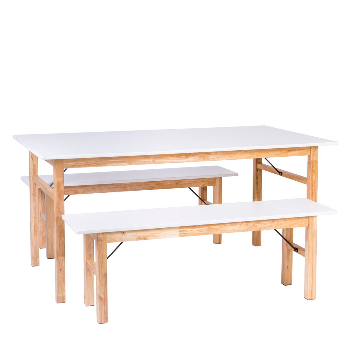 BIANCA Table blanc H 75 x Larg. 90 x Long. 160 cm_bianca-table-blanc-h-75-x-larg--90-x-long--160-cm