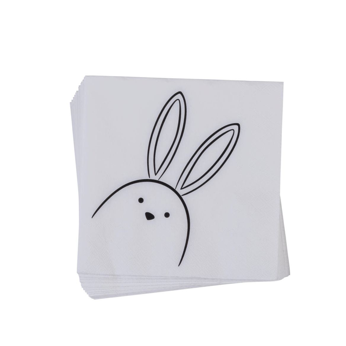 PEEK A BOO Set de 20 serviettes diverses couleurs Larg. 33 x Long. 33 cm_peek-a-boo-set-de-20-serviettes-diverses-couleurs-larg--33-x-long--33-cm