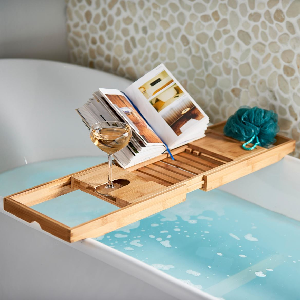 BAMBOO Table de bain naturel H 4 x Larg. 105 x P 22 cm_bamboo-table-de-bain-naturel-h-4-x-larg--105-x-p-22-cm