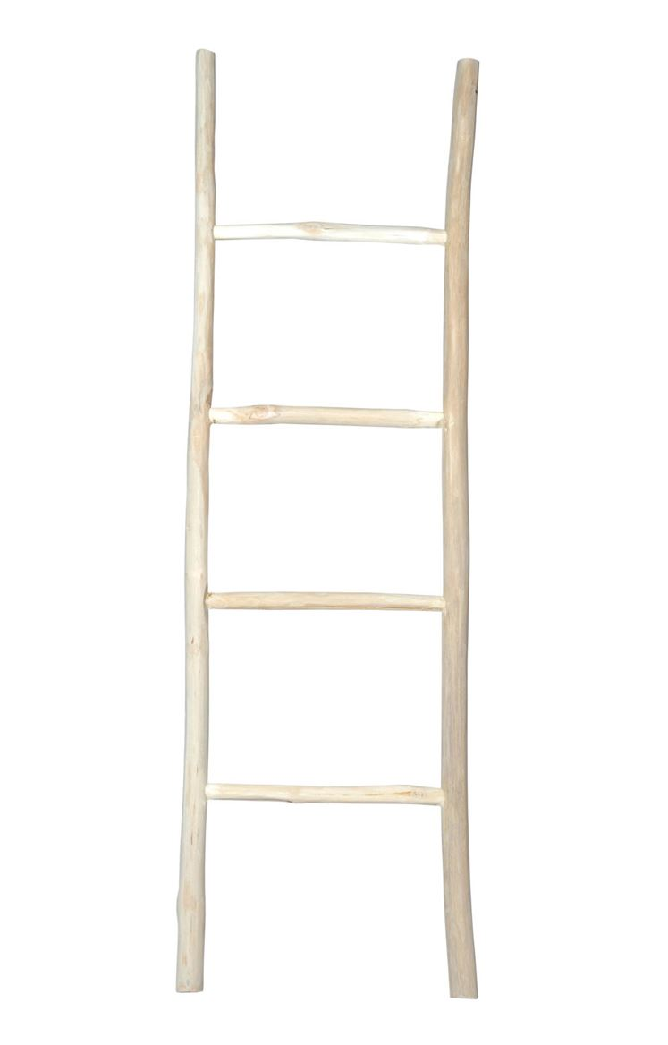 TEAK Ladder naturel H 150 x B 45 x D 4 cm_teak-ladder-naturel-h-150-x-b-45-x-d-4-cm