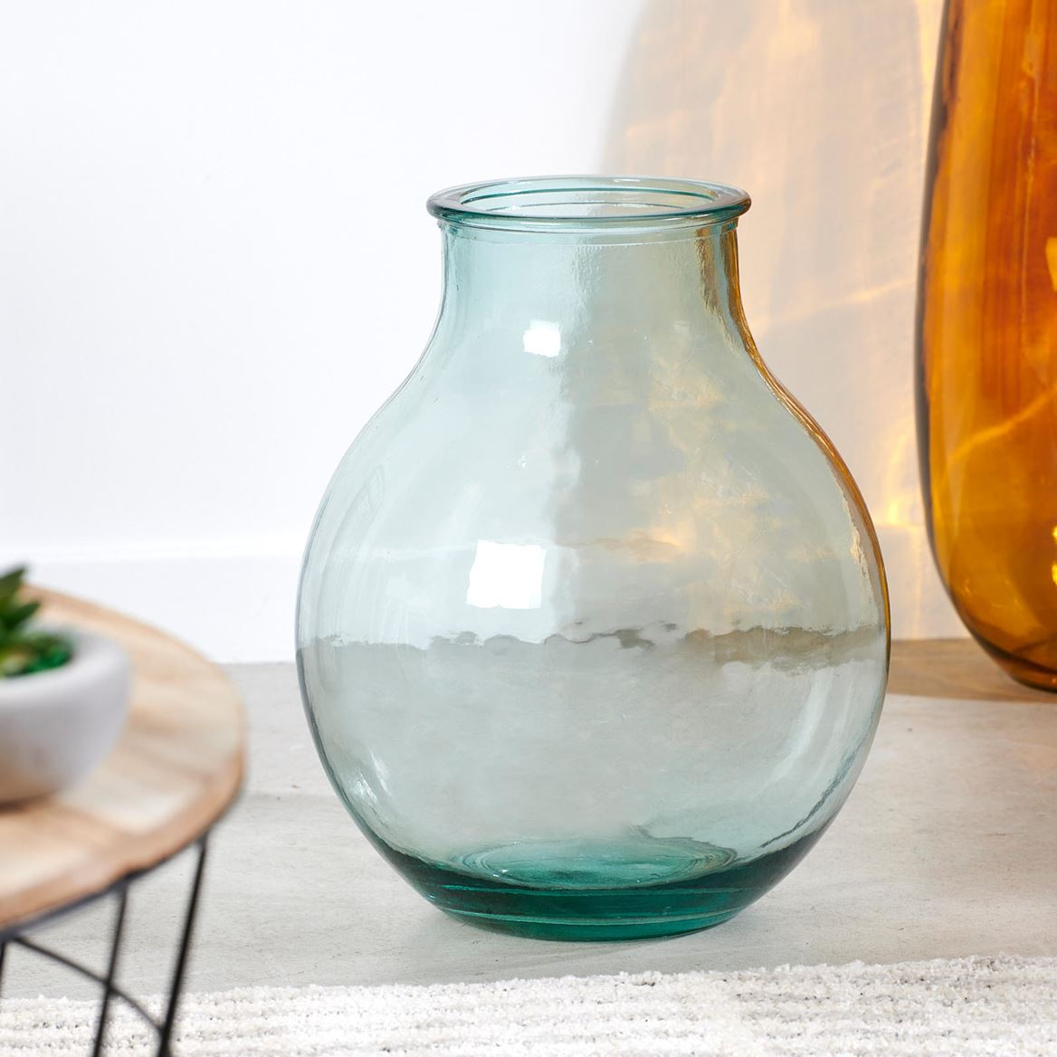 BULBE Vase Transparent H 36 cm_bulbe-vase-transparent-h-36-cm