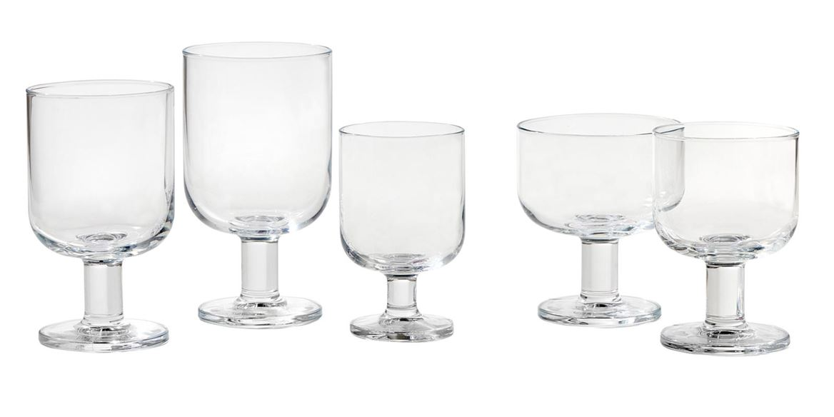 HOSTERIA Coupes set van 6 transparant_hosteria-coupes-set-van-6-transparant