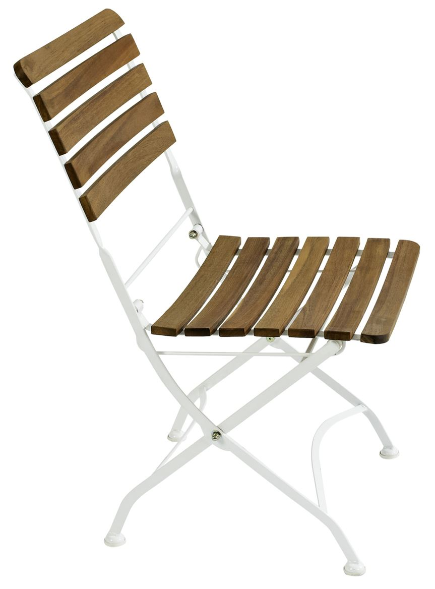 Chaise pliable trendy awesome salon de jardin en bois for Chaise pliable design