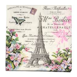 PARIS Set de 20 serviettes