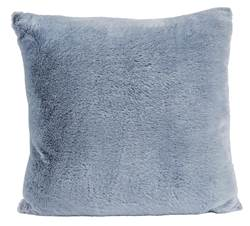TWO TONE Coussin gris Larg. 45 x Long. 45 cm