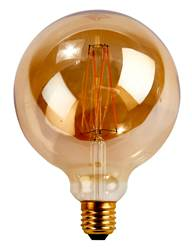 LED Filamentlampe Transparent