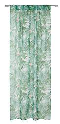 JUNGLE LEAF Rideau vert Larg. 140 x Long. 260 cm