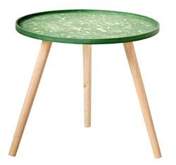 JUNGLE Table d'appoint vert H 45 cm; Ø 50 cm