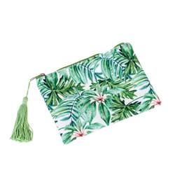 JUNGLE LEAF Trousse de toilette vert H 13 x Larg. 18,5 cm
