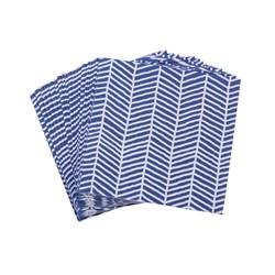 METRO BLUE Set de 20 serviettes