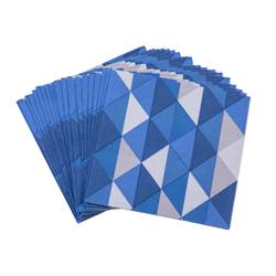 MIRAMAR BLUE Set de 20 serviettes