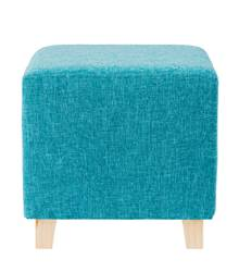 DYLAN Pouf turquoise