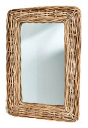 RATTAN Miroir naturel Larg. 45 x Long. 65 cm