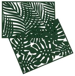 JUNGLE Placemat groen B 32 x L 45 cm