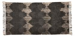 SOUNDWAVE Tapis gris Larg. 70 x Long. 140 cm