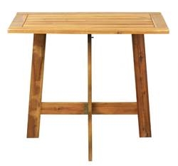 UTAH Table pliante brun H 73 x Long. 82 x P 50 cm
