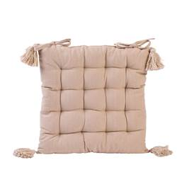 FIOCCO Coussin matelas taupe Larg. 40 x Long. 40 cm