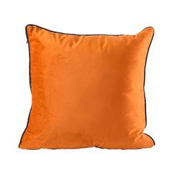 PIPER Coussin orange Larg. 45 x Long. 45 cm
