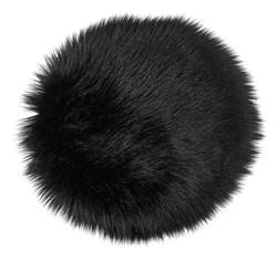 FUR Set de table noir Ø 32 cm