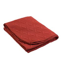 VELOUTE Quilt rood B 160 x L 200 cm
