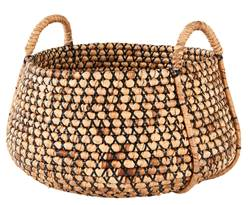 INCA Cesto decorativo natural H 34 cm; Ø 50 cm