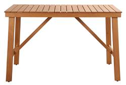 SAIGON Table de bar naturel H 95 x Long. 151,5 x P 80 cm