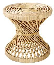 TWIST Tabouret naturel H 42 cm; Ø 43 cm