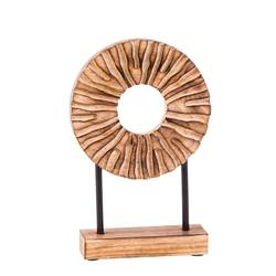 RADIUS Objeto decorativo natural A 30 x An. 19,5 x P 5 cm