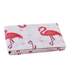 TROPI Nappe flamant rose Larg. 150 x Long. 300 cm