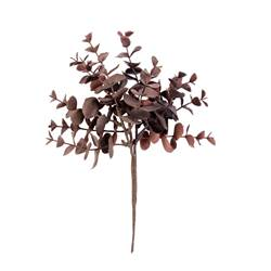 BURGUNDY Branche d'eucalyptus rouge, bordeaux Long. 23 cm
