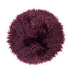 FUR Set de table rouge foncé Ø 32 cm