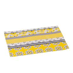 TOURNESOL Set de table jaune Larg. 33 x Long. 45 cm
