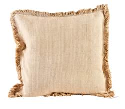 FROW Coussin brun clair Larg. 45 x Long. 45 cm