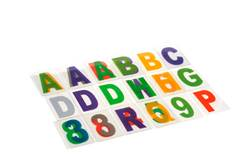 BRILLIANT Set de lettres multicolore