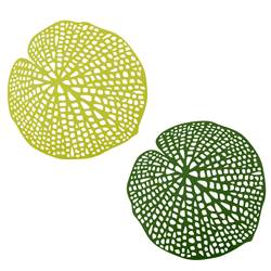 WATER LILY Individual verde W 38 x L 38 cm