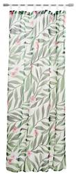 TROPIC FLOWER Gordijn multicolor B 140 x L 240 cm