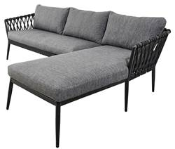 MOLLY Lounge set zwart
