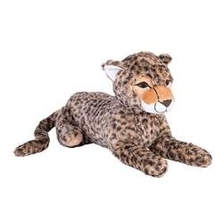CHEETAH Peluche diverses couleurs Long. 36 cm
