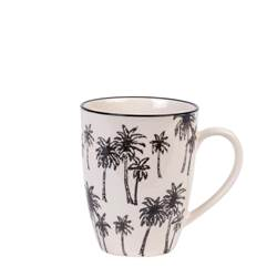 BLACK PALM Taza negro