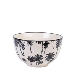 BLACK PALM Bowl zwart