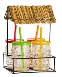 TIKI Set de bar 5 pièces multicolore