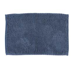 BREEZE Tapis de bain bleu Larg. 40 x Long. 60 cm