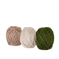 ROPE Cuerda blanco, verde, natural L 3500 cm