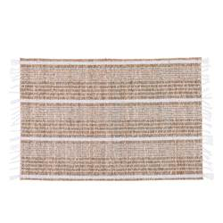 BEACH WH Mantel individual blanco, natural A 33 x An. 48 cm