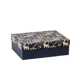 JUNGLE Box Multicolor H 7 x B 23 x T 17 cm