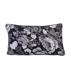 BLACK ROSE Coussin multicolore Larg. 30 x Long. 50 cm