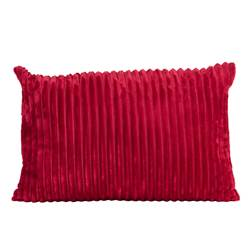 CHUBBY Coussin rouge Larg. 40 x Long. 60 cm