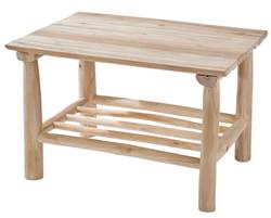 TEAK Table lounge naturel H 45 x Long. 70 x P 50 cm