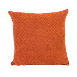 MOSSO Coussin brun Larg. 45 x Long. 45 cm
