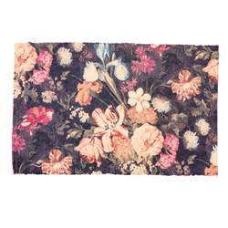 BOUQUET Tapis multicolore Larg. 60 x Long. 90 cm